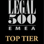 BAND 1 FOR TOFFOLETTO DE LUCA TAMAJO E SOCI IN LEGAL 500 EMEA 2016